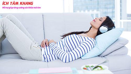 Người bệnh mạch vành nên để học cách thư giãn để giảm co thắt vành