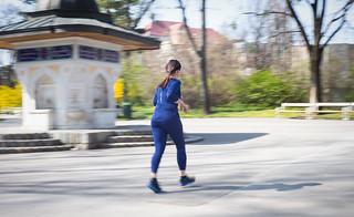 Running Türkenschanzpark   by heyyouphoto