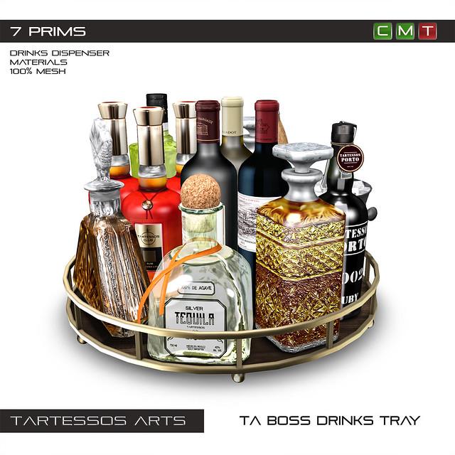 TA Boss Drinks Tray