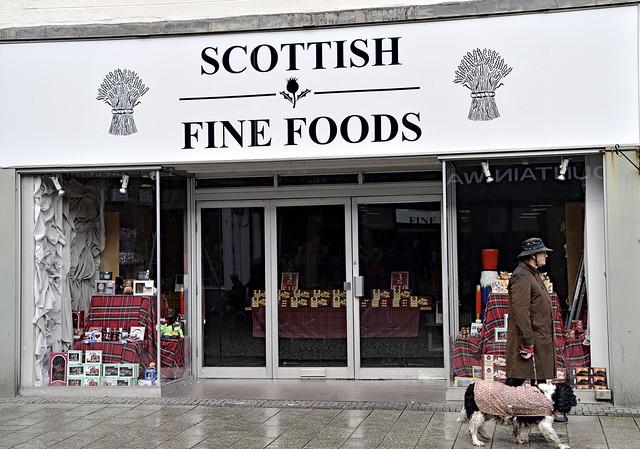 Scottish Fine Foods. Fort William. Scotland