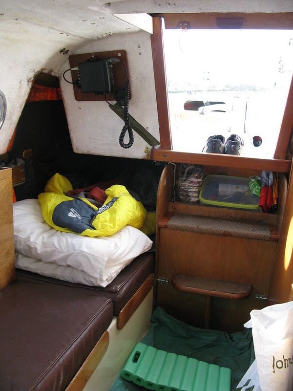 124 . An unfinished symphony – The maintenance of a small cruising yacht - went to sleep - 1