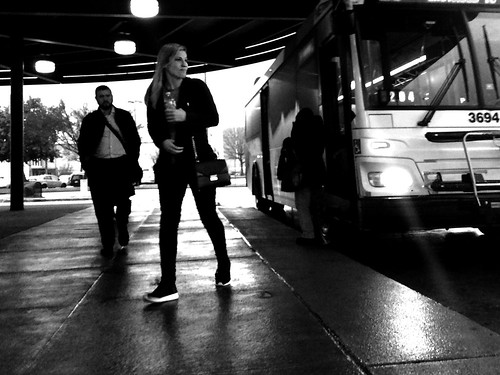 At the bus station | by ldifranza
