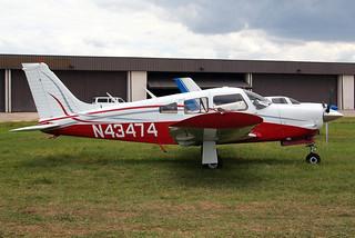 N43474   Piper PA-28R-200 Cherokee Arrow II [28R-7435273] Lakeland-Linder~N 16/04/2010