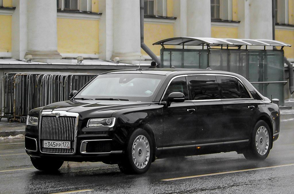 Aurus Senat Limousine. Moscow, Russia. | Government limousin… | Flickr