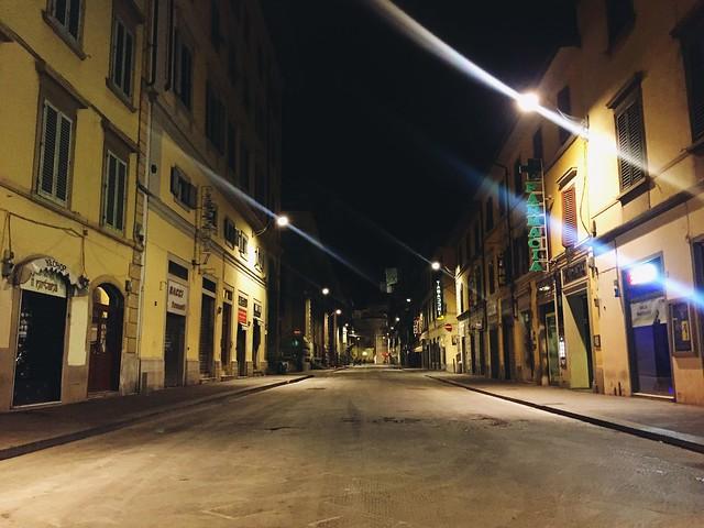 2019-03 Via dell'Ariento verso San Lorenzo, Firenze.