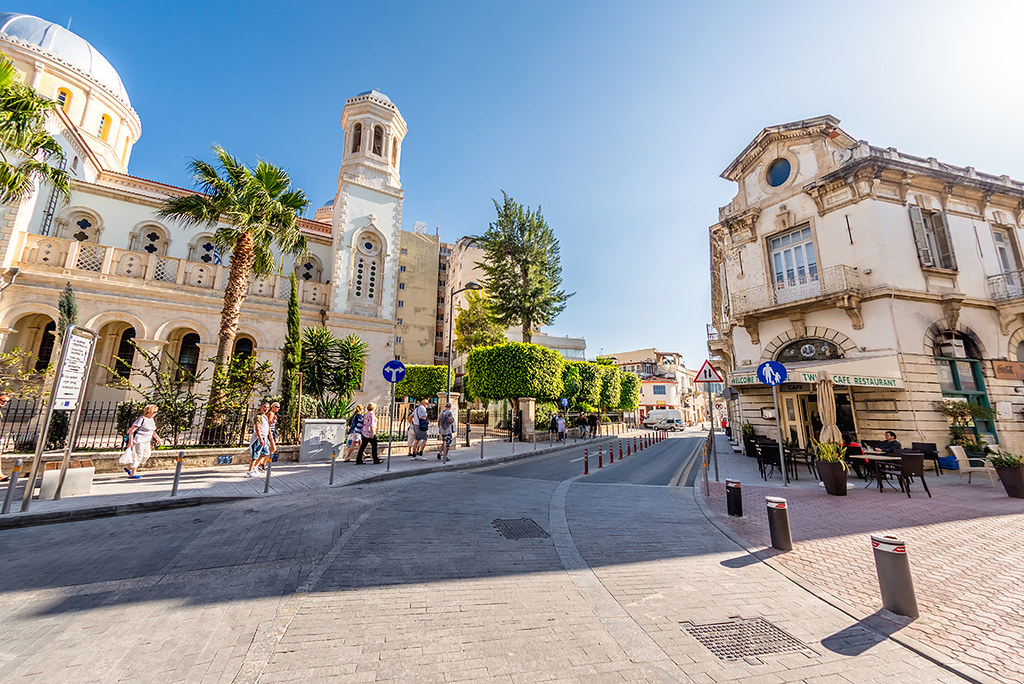 Limassol town in Cyprus