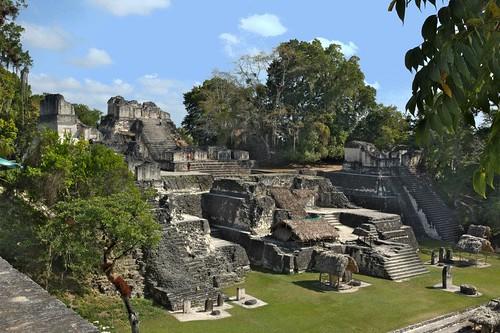 North Acropolis, Tikal Ancient Mayan Site