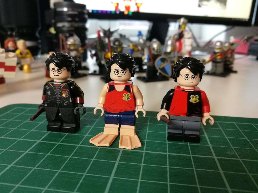 Tournament Uniform Harry Potter LEGO Harry Potter Figure