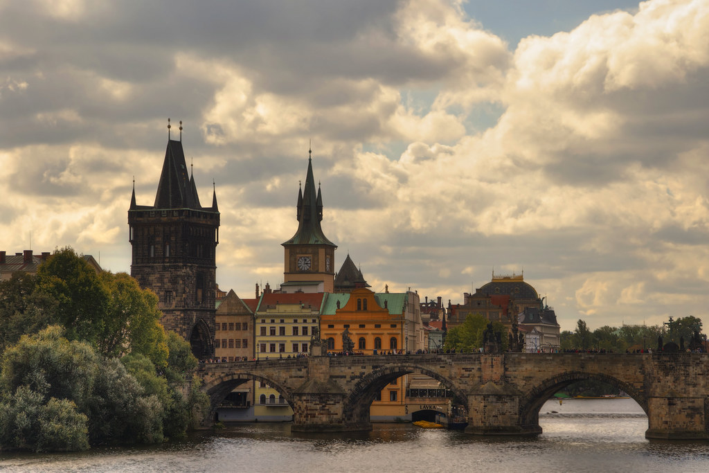 Puente De Carlos Charles Bridge Praga Chequia Ik Kil Flickr
