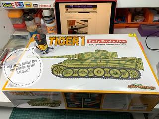 PzKpfw VI Tiger   by iflytb20