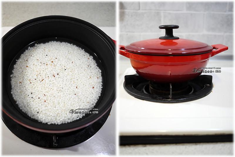 鑄鐵鍋煮飯902