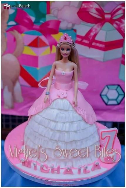 Barbie Cake by Ronalyn Gonzales-co of Mighel's Sweet Bites