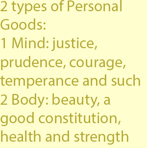 3 beauty, a good constitution, health and strength
