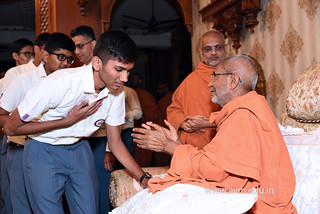 Std-10-11-12-visit-to-Haridham-for-Swamishree's-Blessings-(95) | by Atmiya Vidya Mandir