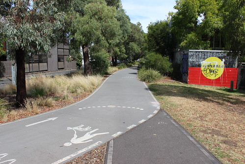 Inner Circle Trail near Apperly Street, Fitzroy North
