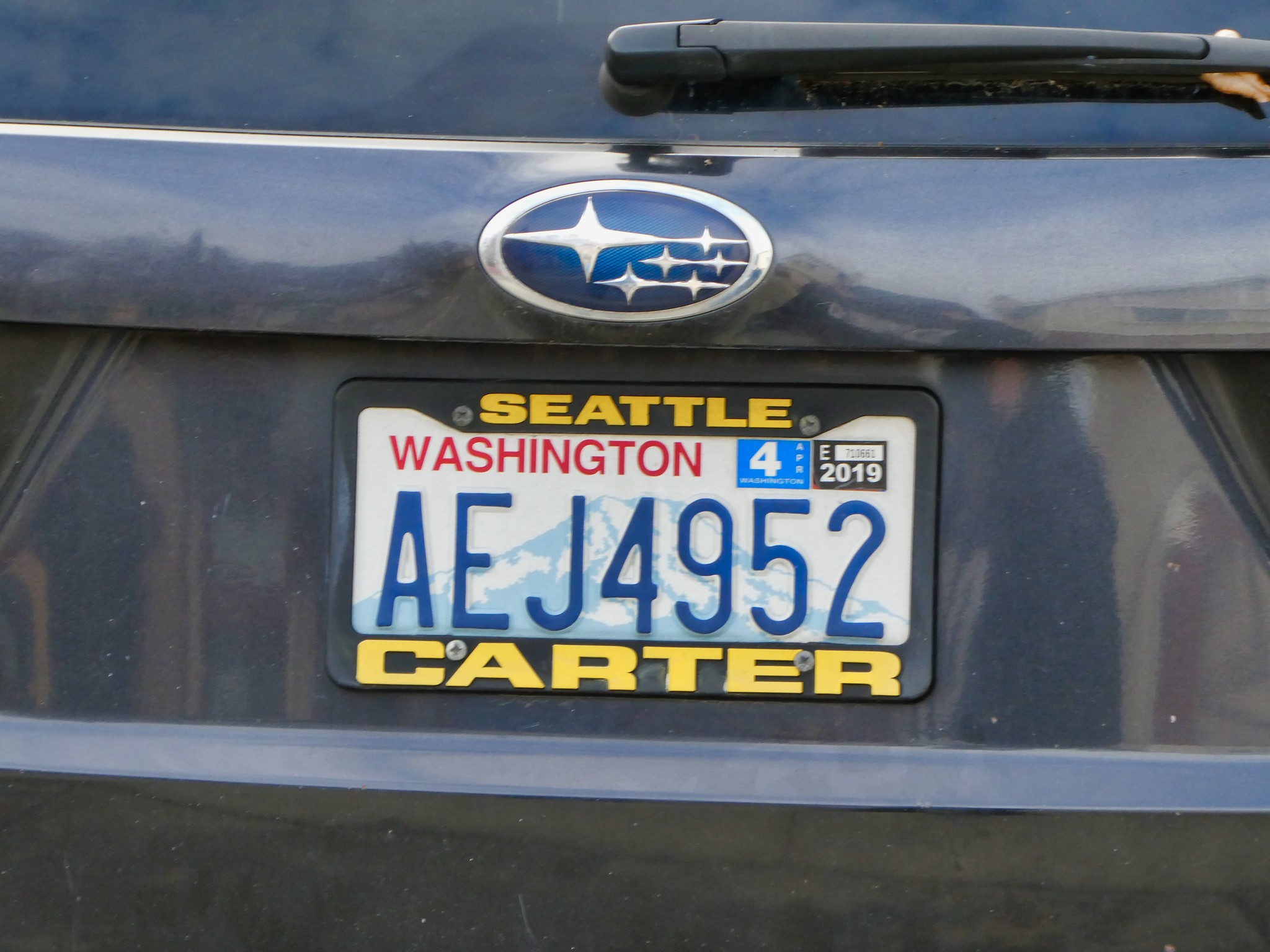2019-02-28 - Street Photography - Cars - Personalized License Plates