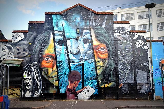 Mural/Street Art/Graffiti, Digbeth, Birmingham