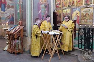 09.03.2019 | Божественная литургия в Иверском монастыре