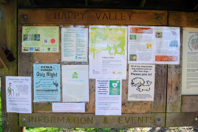 Happy Valley information board