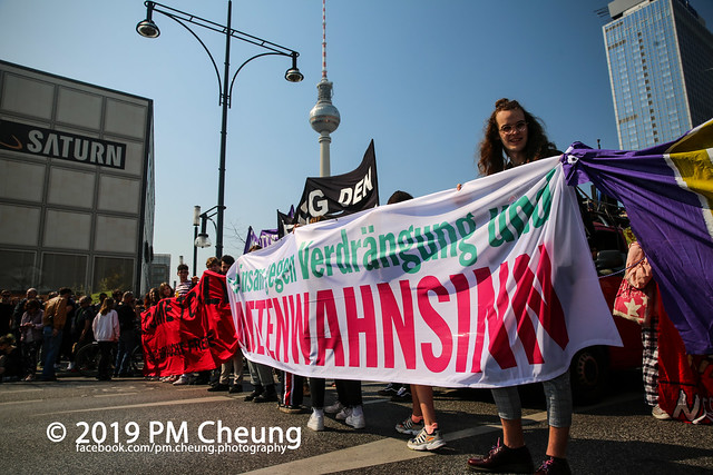 Demonstration: Gemeinsam gegen Verdrängung und Mietenwahnsinn – 06.04.2019 – Berlin - IMG_6434