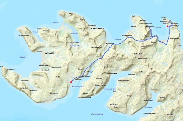 Hornstrandir Full Route