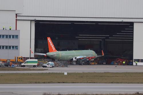 A320neo easyJet G-UZHV | by XFW-Spotter