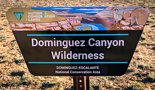 Dominguez Canyon Wilderness Sign | by IntrepidXJ