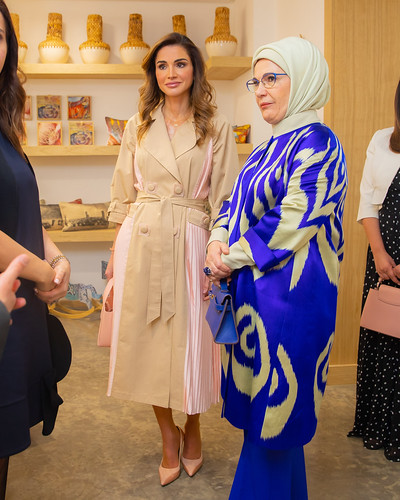Visit to Jordan River Foundation Showroom | by queenrania