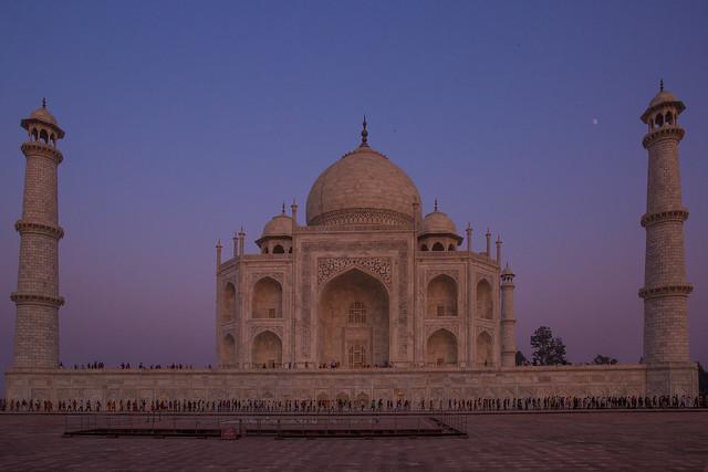 Taj Mahal at Dusk (Happy New Year Flickr Friends)