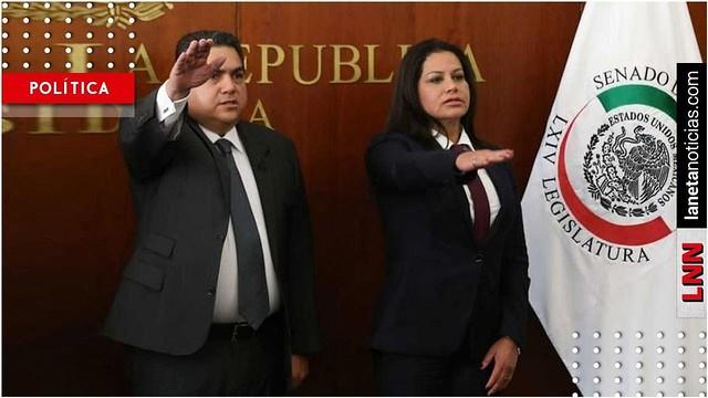 Suplentes de Moreno Valle y García Arrieta rinden protesta en el Senado