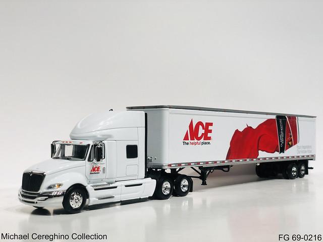 Diecast replica of ACE Hardware International Prostar, FG 69-0216