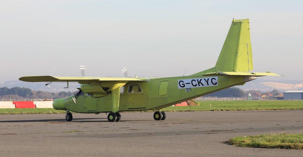 Britten-Norman BN-2B-20 Islander G-CKYC Lee on Solent Airf… | Flickr