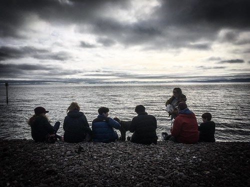 Chips & Fish (from the best chippy on east Devon) on the beach. English Christmas. | by aiddy