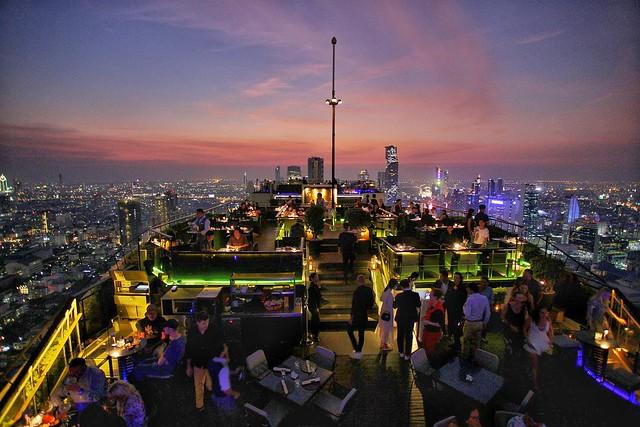Vertigo & moon bar Bangkok