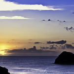 Sunrise in Indian Ocean