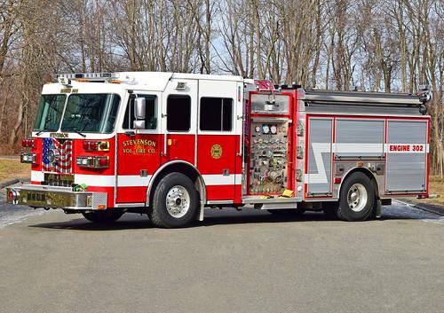 stevenson monroe ct fire dept truck connecticut apparatus department sutphen engine