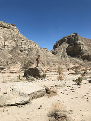 A naked hike in the Mecca Hills