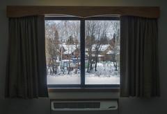 Winter Hotel Window