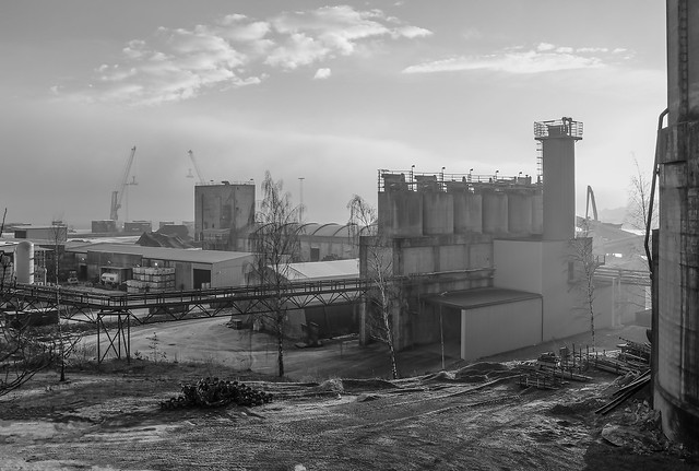 Cement factory