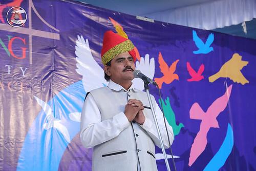 SNM Branch Sanyojak Shanti Lal Gagwani, expresses his views