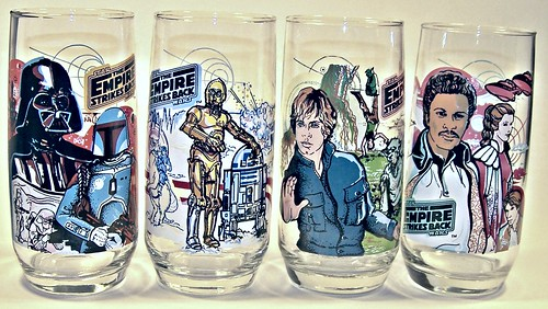 Empire Strikes Back- drinking glasses