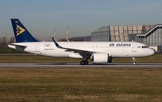 A320-271N, Air Astana, D-AXAP, P4-KBI (MSN 8483) | by Mathias Düber