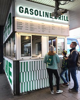 Gasoline Grill! We're serious about following Phil. | by Jodimichelle