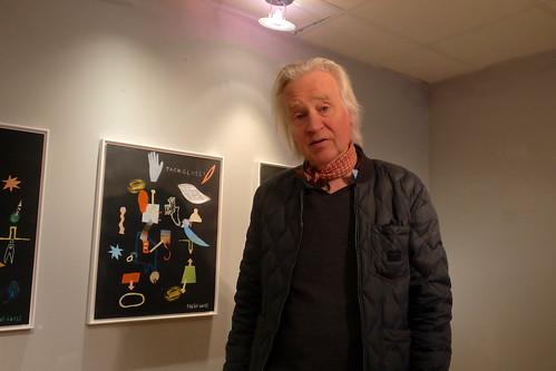 Pontus Carle på Galleri Sander/ NP33