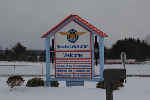 Brampton Flying Club Hanger Fire March 2019