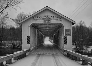 Rexleigh Bridge, Christmas Eve 2018   by chuckthewriter