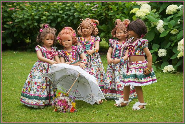 Kindergartenkinder ... ein schönes Wochenende ...