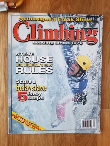 Climbing #209, Nov. 2002