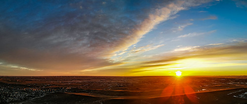sunrise aerialphotography skyscape