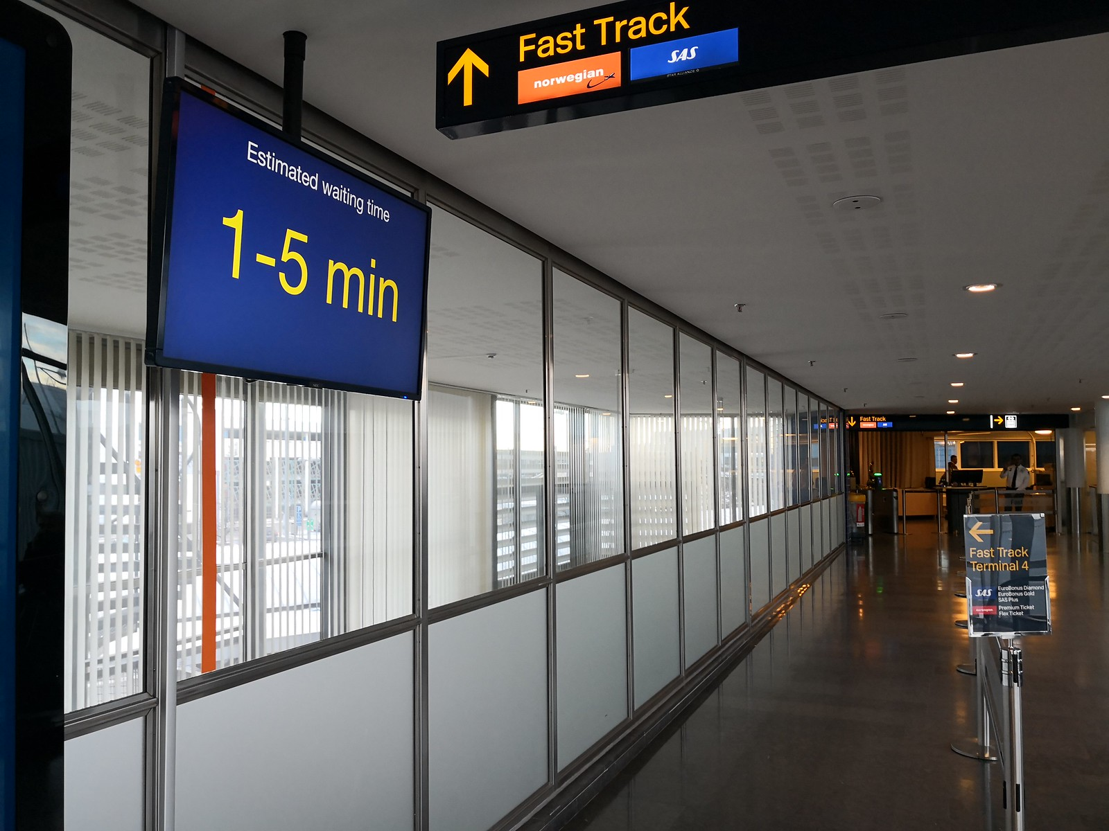 Fast track to the gates